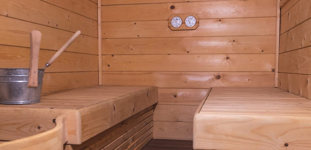Pelion Resort Spa Sauna