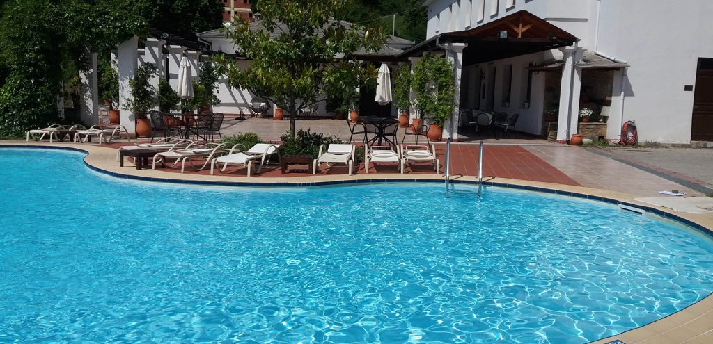 Pelion Resort swimming pool 1